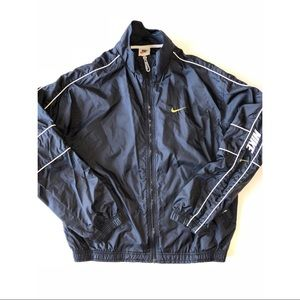 Vintage Nike Full Zip Windbreaker Jacket Size Med